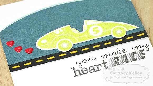Courtney Kelley - You Make My Heart Race