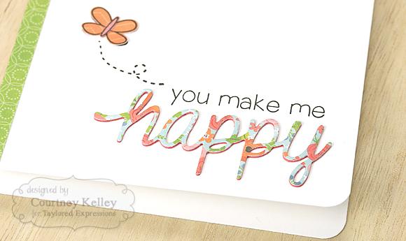 Courtney Kelley - You Make Me Happy