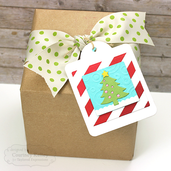 Courtney Kelley - Christmas Tree Tag
