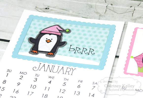 Courtney Kelley - Critter Calendar Cards