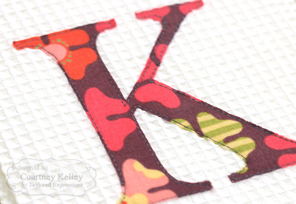 Courtney Kelley - Monogram Towels