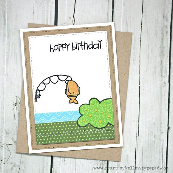 Courtney Kelley - Happy Birthday Fish