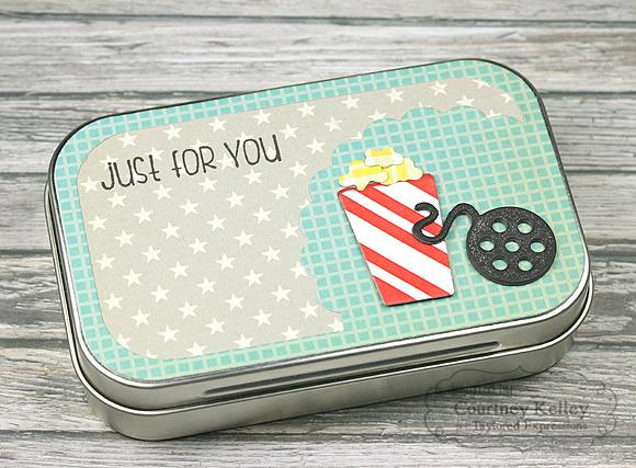 Courtney Kelley - Movie Night Gift Card Tin