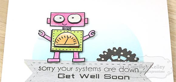 Courtney Kelley - Get Well Soon Robot