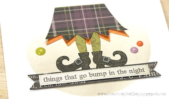 Courtney Kelley - Things That Go Bump Close Up