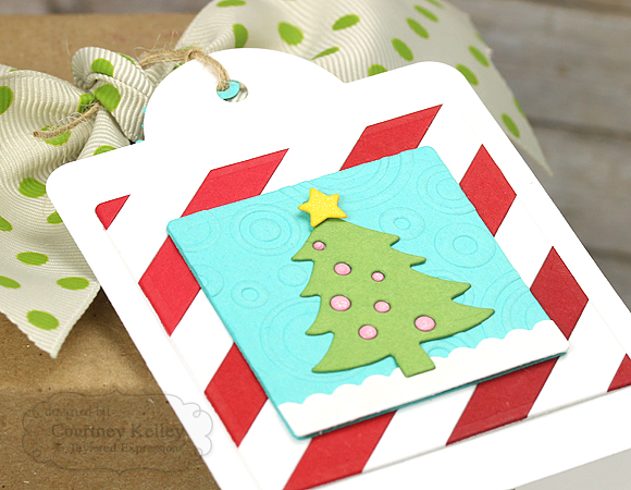 Courtney Kelley - Christmas Tree Tag