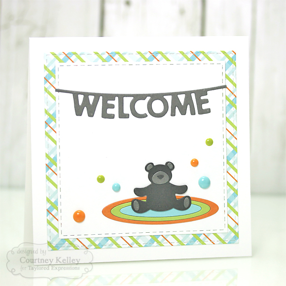 Courtney Kelley - Welcome Teddy Bear