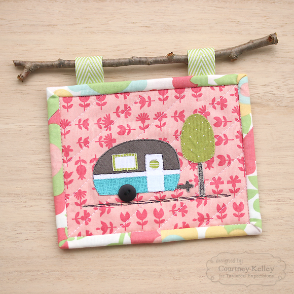 Courtney Kelley - Camper Mini Quilt