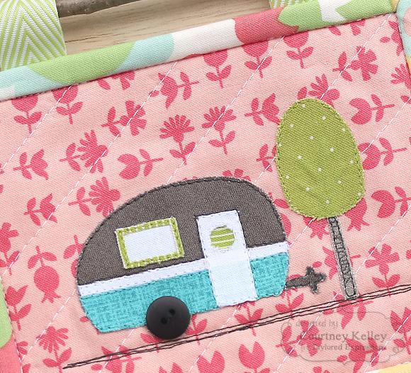 Courtney Kelley - Camper Mini Quilt