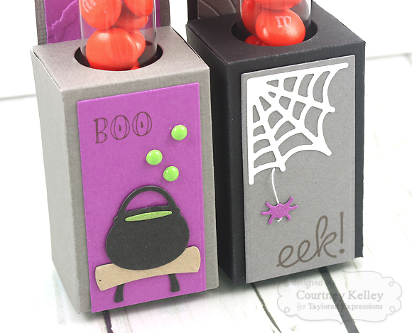 Courtney Kelley - Halloween Test Tube Caddy