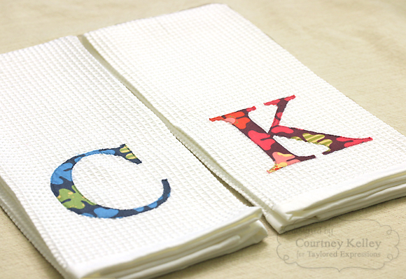 Courtney Kelley - Monogram Towels