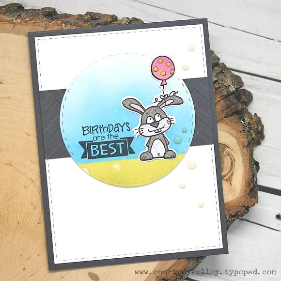 Courtney Kelley - Birthdays Are The Best Bunny