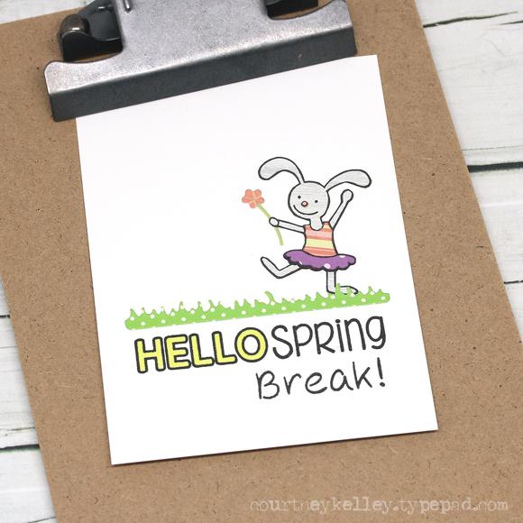 Courtney Kelley - Bunny Spring Break