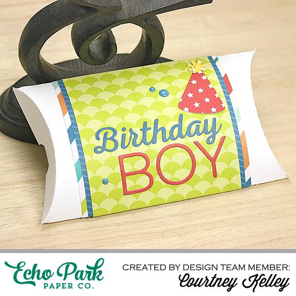 Courtney Kelley - Birthday Boy Pillow Box
