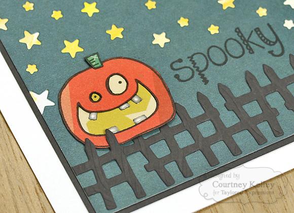 Courtney Kelley - Spooky Pumpkin
