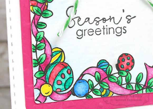 Courtney Kelley - Season's Greetings Tag