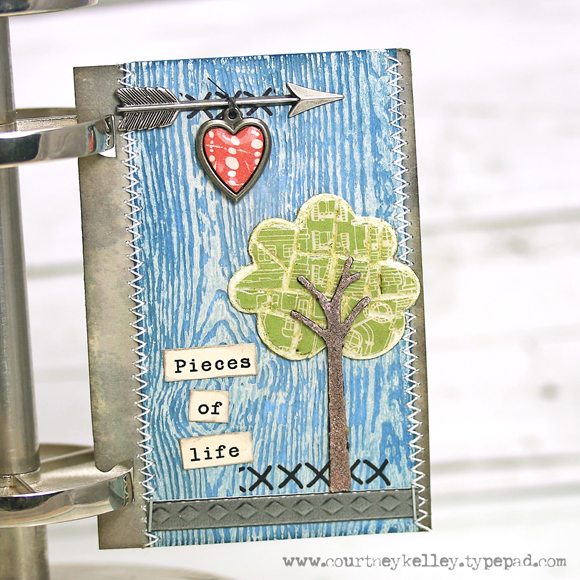 Courtney Kelley - Pieces of Life ATC