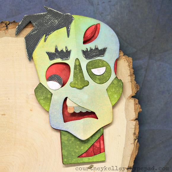Courtney Kelley - Zombie Head