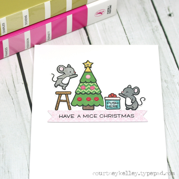 Courtney Kelley - Have a Mice Christmas 1 blog