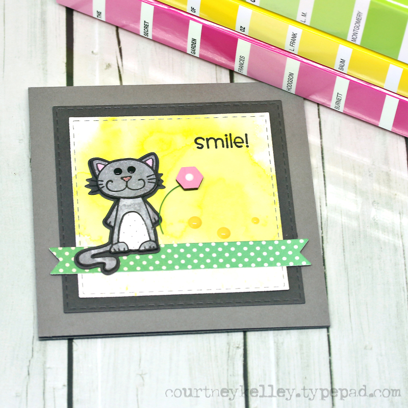 Courney Kelley - Smile! Cat
