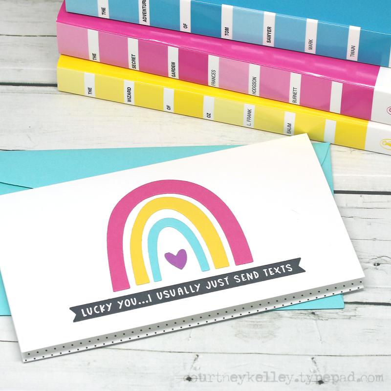 Courtney Kelley - Lucky You Rainbow blog