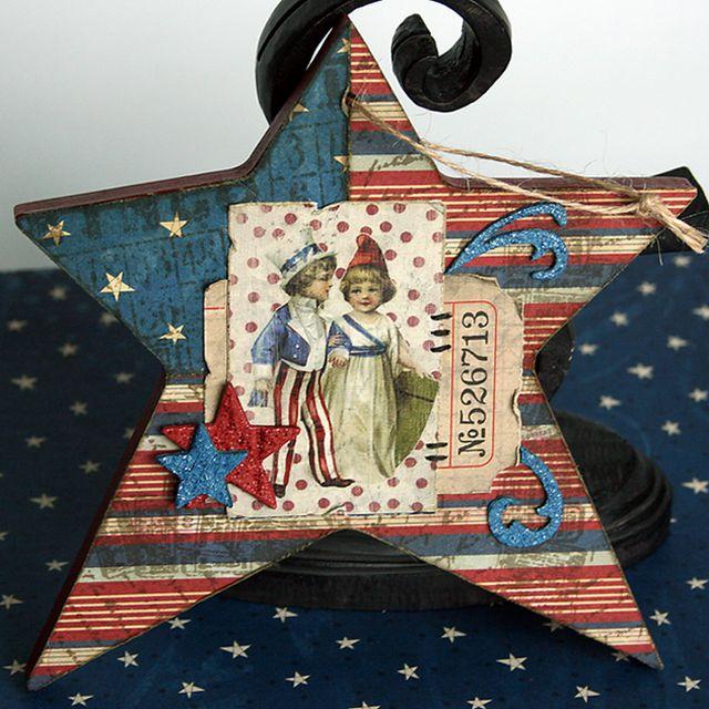 4th july ornament